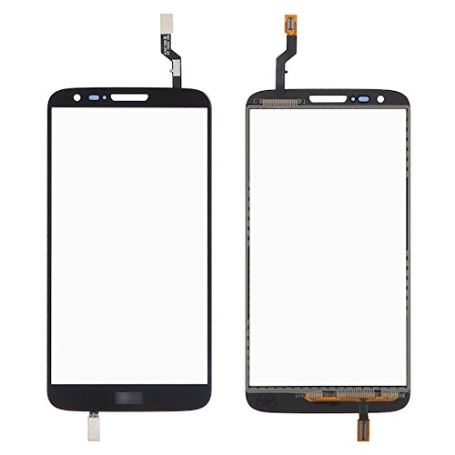 BisLinks New Black Touch Screen Glass Panel Digitizer Replacement Part for LG G2 D802