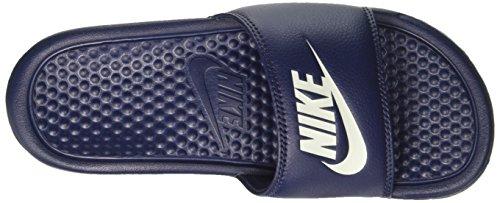 Nike Benassi Jdi, Chanclas Hombre Azul (Midnight Navy/Windchill)
