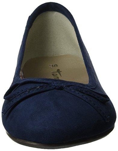 Tamaris 22150, Bailarinas para Mujer Azul (NAVY 805)
