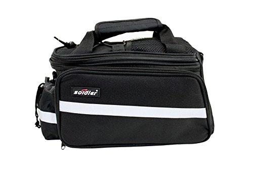 Sport Satteltasche Fahrrad Tasche Packtasche Gepäckträgertasche Gepäcktasche ideal für Sportfahrräder