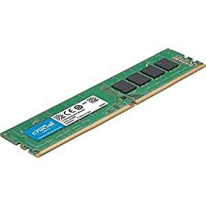 Crucial 8GB Single DDR4 3200 MT/s (PC4-25600) SR x8 DIMM 288-Pin Memory - CT8G4DFS832A