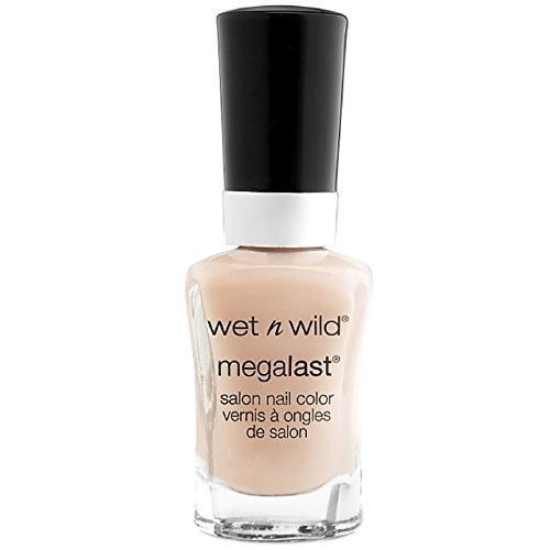 Wet n Wild MegaLast Salon Nail Color, 2% Milk 0.45 oz (Pack of 2)