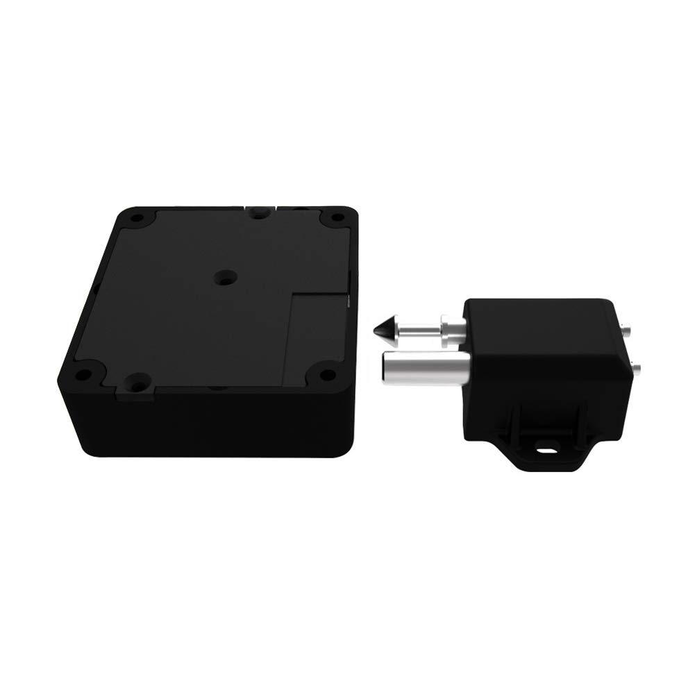 ROKOO La Seguridad automá tica del cajó n Invisible Invisible de la Puerta de la Cerradura del gabinete de Bluetooth electró nico Segura asegura