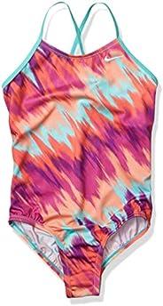 Nike Girls Crossback One Piece Swimsuit