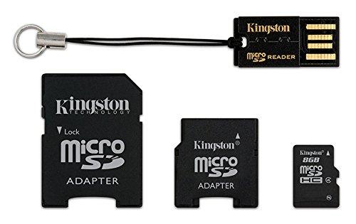 Amazon.com: Kingston Mobility Kit Flash tarjeta de memoria ...