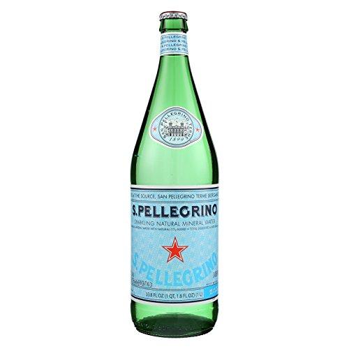 San Pellegrino Mineral Water - Case of 12 - 1 Liter by San Pellegrino