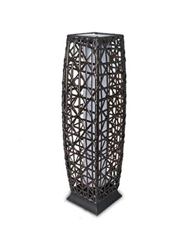 Outdoor Rattan Floor Lamp in US - 6