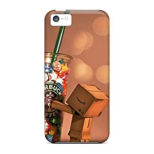 New Diy Design Danbo Starbucks For Iphone 5c Cases Comfortable For Lovers And Friends For Christmas Gifts