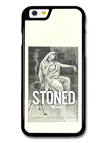 Stoned Retro Vintage Classic Stoner Pot Illustration Funny Cool case for iPhone 6 6S
