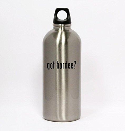 got-hardee-silver-water-bottle-small-mouth-20oz