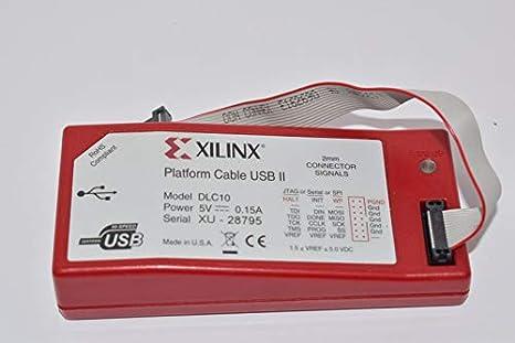XILINX PLATFORM CABLE USB II WINDOWS 7 DRIVERS DOWNLOAD