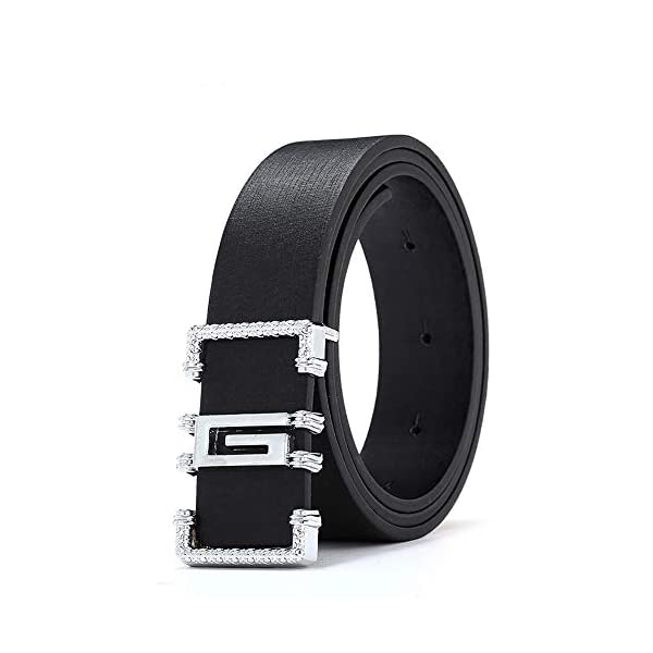 Firally Hot sale Cintura,Cintura Sottile Sottile in Pelle Casual Moda Casual Sottile Unisex Dimensioni Regolabili… 1 spesavip