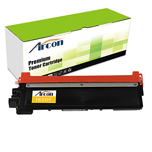 ARCON 1PK Yellow (1,400 pages) Compatible Toner Cartridge Replacement For Brother TN210Y TN-210 TN210 For Printers HL-3040CN HL-3070CW HL-3045CN HL-3075CW MFC-9010CN MFC-9320CW MFC-9125CN MFC-9325CW
