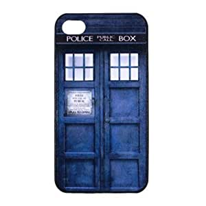 S9Q Police Box Hard Back Case Patterned Cover Back Skin For Apple iPhone 5c