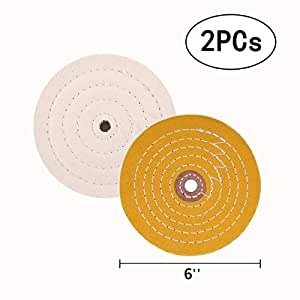 Buffing Wheels For Bench Grinder 6 Quot Polishing Wheels White