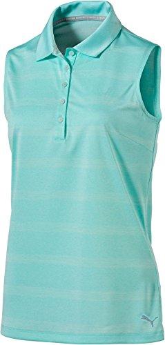 原子炉囲まれたマークプーマ トップス シャツ PUMA Women's Pounce Stripe Sleeveless Go ArubaBlue [並行輸入品]