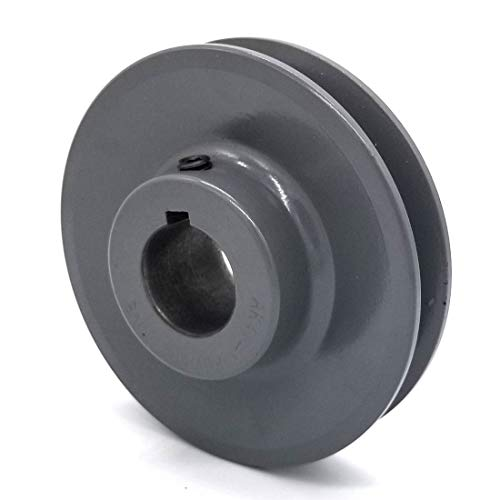 V-Groove Drive Pulley - 4'' Dia. - 1'' Bore - Cast Iron ()