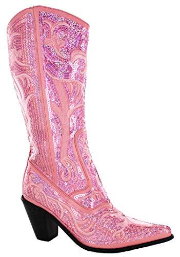 Helens Heart Bling Boots (7,