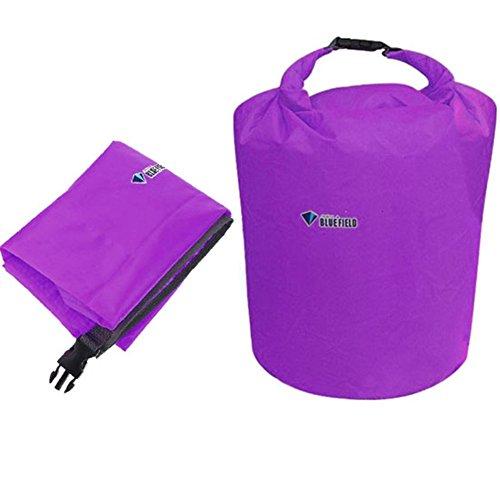 Smartbargain Travel Waterproof Pounch Dry Bag Camping Bag for Kayaking Canoeing Rafting Swimming Purple