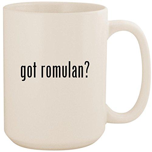 got romulan? - White 15oz Ceramic Coffee Mug -
