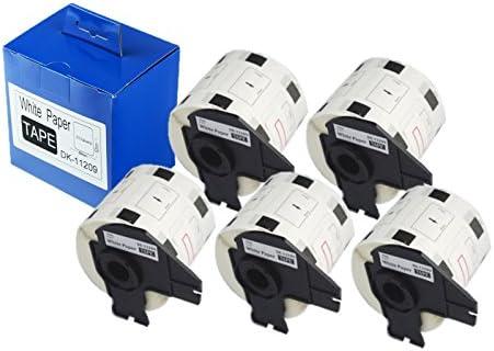 DK-11209 (Paquete de 5 rollos) Cinta de etiquetas de correo para ...