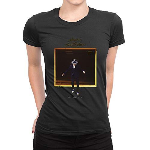 JIANGMUYA Women's Mayer Hawthorne Man About Town T-Shirt Small