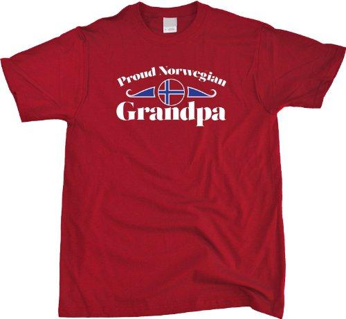 Proud Norwegian Grandpa   Norway Pride Unisex T-shirt Norway Grandparent Shirt