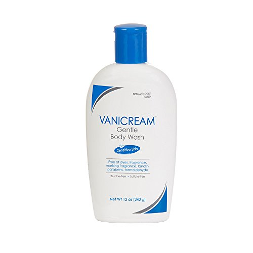 Vanicream Gentle Body Wash | For Sensitive Skin | Dermatologist Tested | Fragrance and Paraben Free | 12 Ounce
