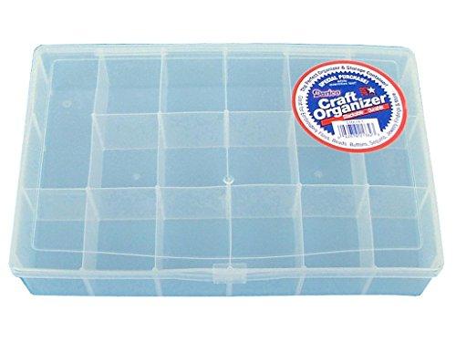 Promo Plastic Organizer Clear Compartments