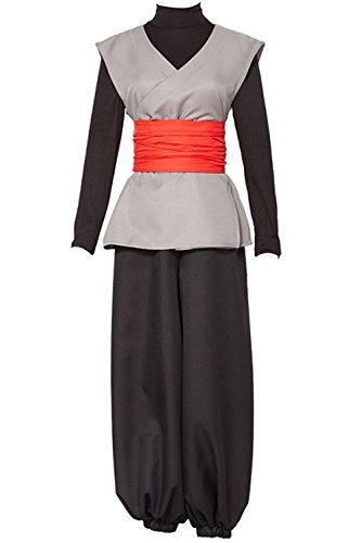 UU-Style Cosplay Halloween Costume Mens Uniform Dress Outfit Son Goku Black Zamasu Kai Costume Kong-Fu Suit Wig