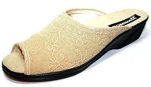 Romika - Zuecos de raso para mujer marfil marfil marfil - naturaleza