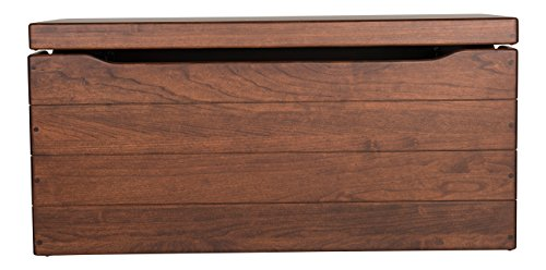 Blanket Chest Storage Box Hope Chest for Parents,Grandparents,Grandchildren and Children's Birthday gifts Made of Maple Made in USA By Rooms Organized (36