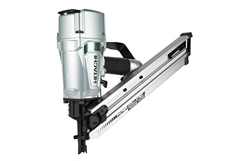 Hitachi NR83AA5 Paper Collated Framing Nailer with Rafter Hook, 3-1/4 inch