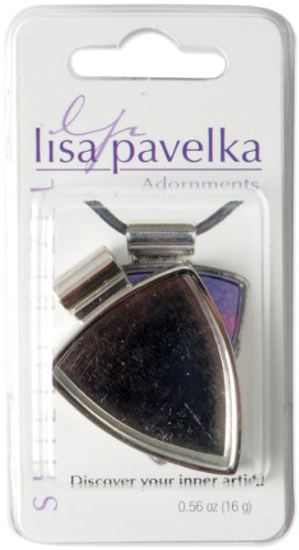 Jhb Buttons - JHB Lisa Pavelka Findings Shield Bezel, Silver