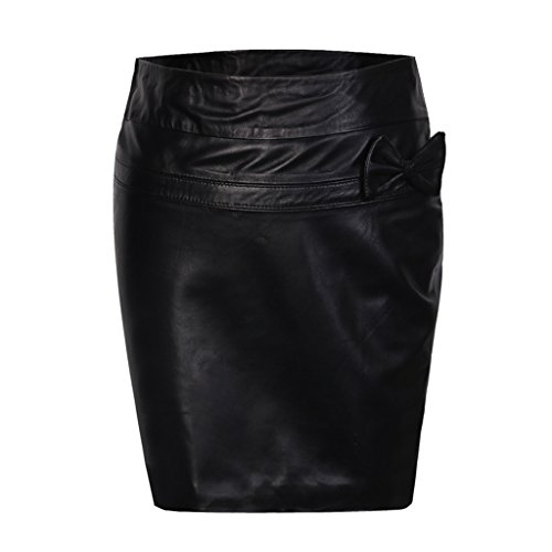 Humiture Womens Genuine Leather Pencil Skirt lovely ...