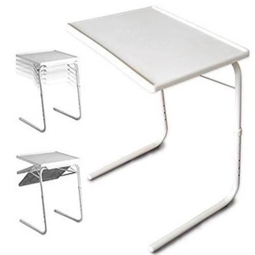 Fine Major Folding Tv Laptop Table White 20 71 X 16 22 X 2 44 Cm Ncnpc Chair Design For Home Ncnpcorg