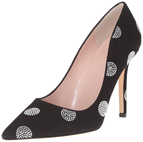 Kate Schoppen New York Dames Libby Jurk Pump Zwart Suède