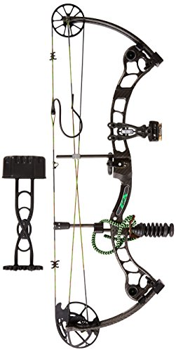Martin Archery Afflictor 70# Compound Bow Package, Black, Right
