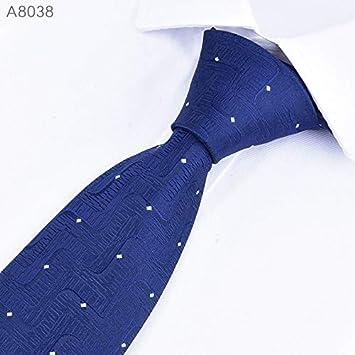 LFLJIE Corbatas para Hombres Corbata 8cm Boda clásica para Hombres ...