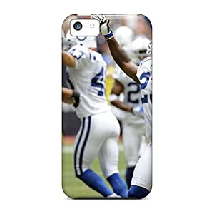 Iphone 5c Case, Premium Protective Case With Awesome Look - Indianapolis Colts Games
