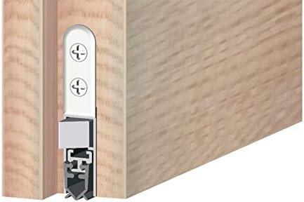 chambre /Étanch/éit/é 1 Set Gedotec Plinthe Joint de Porte Acoustique Isolation Automatique STAR-SEAL pour Salle de Contr/ôle Salle de Bain Longueur 830 mm Thermique Isolation Phonique