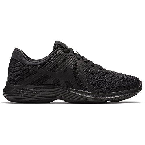 Nike Dames Revolutie 4 Hardloopschoenen Zwart / Zwart 11