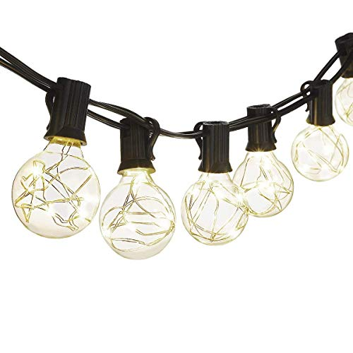 Mpow Cymas [Upgraded (Cool White) Solar String Lights, 72ft 200LED, 2 Pack