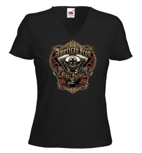 Fruit of the Loom - Camiseta - para mujer negro