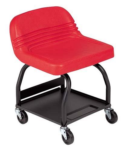 Whiteside Mfg HRS-R High Rise Padded Seat - Red by Whiteside