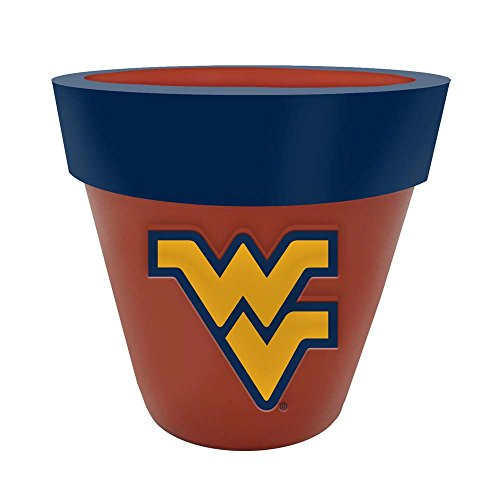 Memory Company NCAA West Virginia University Col-Wvi-2213Team Logo Planter, Multi, One Size (Virginia University Light Lamp West)