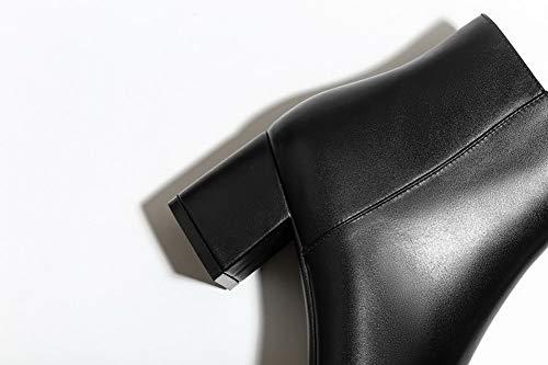 Noir Eu 5 Noir Femme 36 Sandales Abm12760 Balamasa Compensées Pu qzRIzU