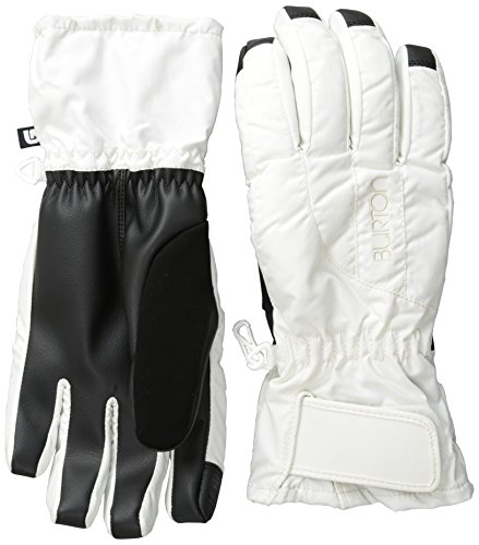 BURTON Women's Profile Under Gloves, Stout White, X-Large