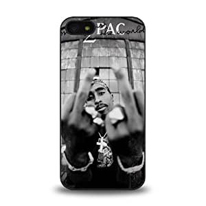 iPhone 5s case protective skin cover with American rapper Tupac Shakur known as 2Pac, Makaveli design #8