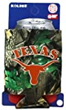 Texas Longhorns Realtree Camo Can Coolie Koozie